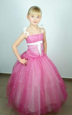 Как украсить детское платье бусинами своими руками фото 1