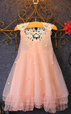 Как украсить детское платье бусинами своими руками фото 3
