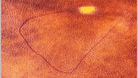 Чем оттереть ручку с кожи или кожзама