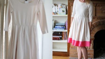 Как сделать платье длиннее своими руками