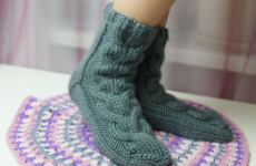Из какой пряжи вязать носки