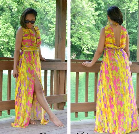 6f06f5ae4f3bac6 ... предпочтет платье в пол. Фасон макси нередко можно заметить, как на  праздничных торжествах (выпускной, свадьба), так и на дневных прогулках по  парку.