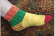 Как связать носки спицами пошагово (со схемами)