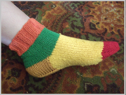 как связать носки спицами мастер класс