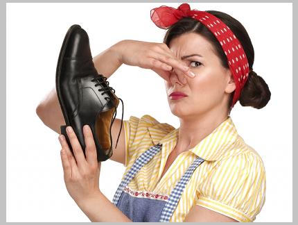Обувь воняет, что делать. народные средства