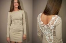 Как увеличить платье своими руками