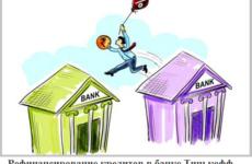 Условия рефинансирования кредита в Тинькофф банке физическому лицу в 2021