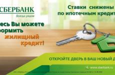 Условия ипотеки в Сбербанке в 2019 году