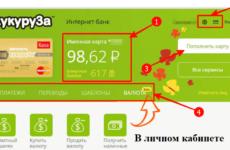Как быстро взять кредит на карту Кукуруза онлайн