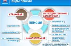 Какие виды пенсий в России и чем они отличаются?