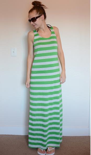 Как сшить майку-платье