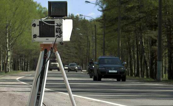 Мобильная камера фиксации нарушений ПДД