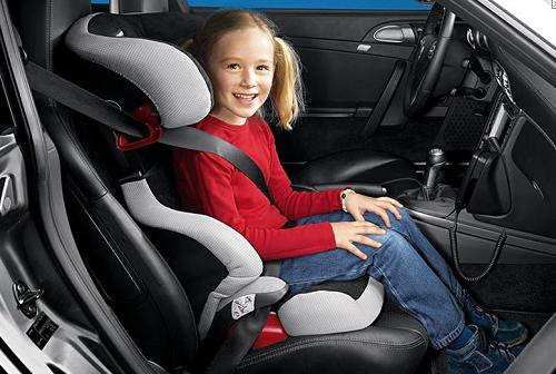 Штраф за ребенка на переднем сиденье машины
