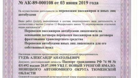 Обновленные правила получения лицензии на автобусные перевозки с 1 января 2021 года
