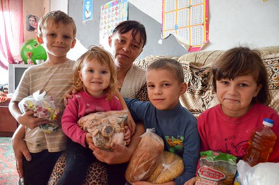 на какую помощь от государства может рассчитывать многодетная семья