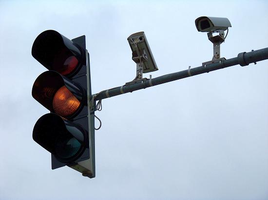 проезд на красный свет светофора штраф